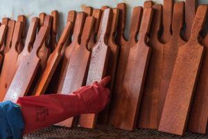 Teinture du bois