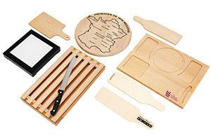 objets en bois pour l'art de la table