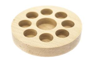 Présentoir à cosmétiques en bois